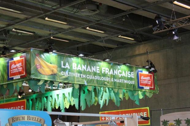 La banane de Guadeloupe et Martinique