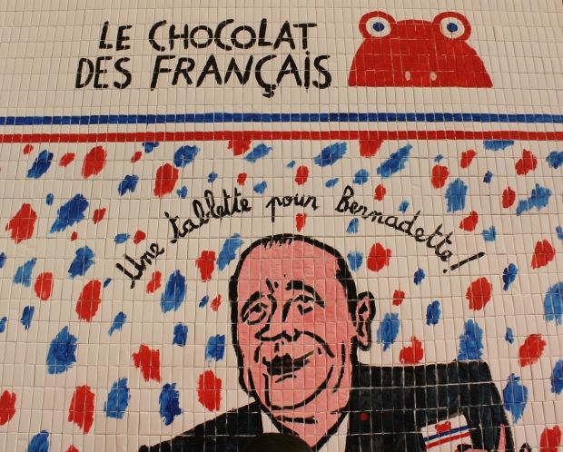 Mosaique Le chocolat des français