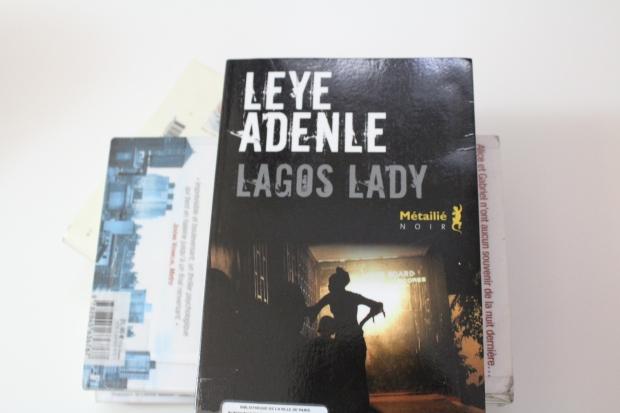 leye adenle, lagos lady, litterature africaine